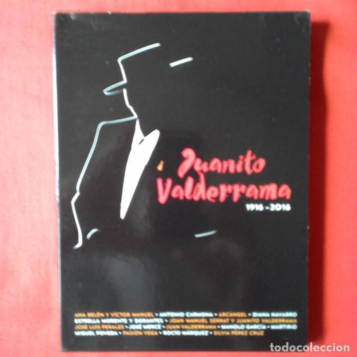 JUANITO VALDERRAMA 1916 - 2016 SERRAT ANA BELLEN JOSE MERCE MANOLO GARCIA. CD + DVD (Música - CD's Flamenco, Canción española y Cuplé)