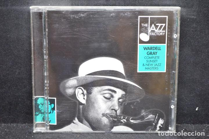 WARDELL GRAY - COMPLETE SUNSET & NEW JAZZ MASTERS - CD (Música - CD's Jazz, Blues, Soul y Gospel)