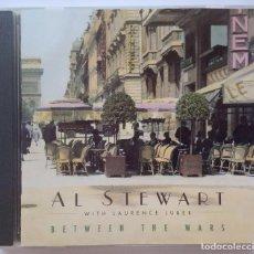 CD di Musica: AL STEWART W/ LAURENCE JUBER - BETWEEN THE WARS - US CD 1995 - MESA. Lote 167911792