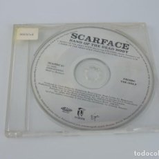 CDs de Música: SCARFACE / HAND OF THE DEAD BODY PROMO SINGLE CD. Lote 167915988