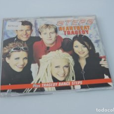 CDs de Música: STEPS - HEARTBEAT / TRAGEDY SINGLE CD. Lote 167916220