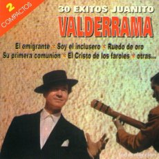 CDs de Música: DOBLE CD ÁLBUM: JUANITO VALDERRAMA - 30 ÉXITOS DE JUANITO VALDERRAMA - ARC RECORDS / HELIX 1999. Lote 167933660
