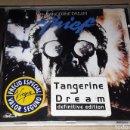 CDs de Música: CD - TANGERINE DREAM - THIEF - TANGERINE DREAM LIVE - DEFINITIVE EDITION - MADE IN HOLLAND -. Lote 167968430