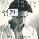 CDs de Música: ALEJANDRO FERNANDEZ / ME ESTOY ENAMORANDO (CD SINGLE CARTON PROMO 1998). Lote 167969692