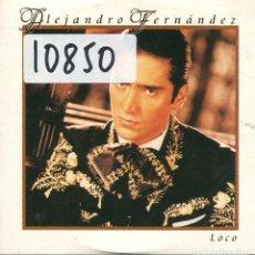CDs de Música: ALEJANDRO FERNANDEZ / LOCO (CD SINGLE CARTON PROMO 1999). Lote 167969864