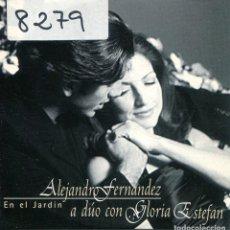 CDs de Música: ALEJANDRO FERNANDEZ CON GLORIA ESTEFAN / EN EL JARDIN (CD SINGLE CARTON PROMO 1997). Lote 167969976