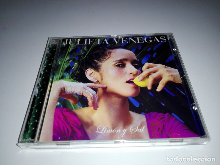 CD-JULIETA VENEGAS-BUEN ESTADO-VER FOTOS (Música - CD's Latina)