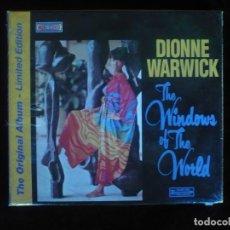 CDs de Música: DIONNE WARWICK THE WINDOWS OF THE WORLD - CD NUEVO PRECINTADO. Lote 167983832