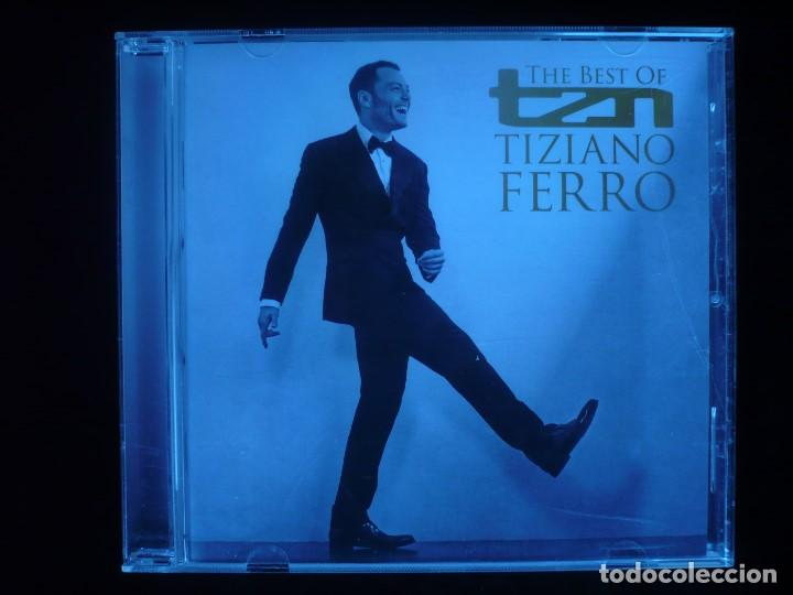 THE BEST OF TIZIANO FERRO - CD COMO NUEVO (Música - CD's Otros Estilos)