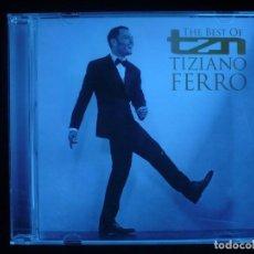 CDs de Música: THE BEST OF TIZIANO FERRO - CD COMO NUEVO . Lote 167988868