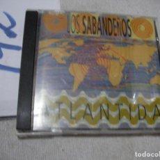 CDs de Música: ANTIGUO CD - LOS SABANDEÑOS. Lote 167990492
