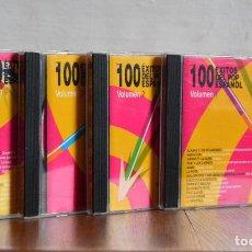 CDs de Música: 100 EXITOS POP ESPAÑOL 4CDS / POLYGRAM IBERICA 1998 / 565 395-2. Lote 168022300