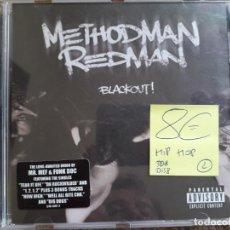 CDs de Música: METHODMAN REDMAN , BLACKOUT , CD 1999 HIP HOP ESTADO IMPECABLE ENVIO ECONOMICO. Lote 168028164