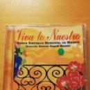 CDs de Música: VIVA LO NUESTRO. BANDA SINFÓNICA MUNICIPAL DE MADRID (DIRECTOR: ENRIQUE GARCÍA ASENSIO) CD. Lote 168070992
