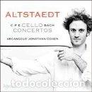 CDs de Música: CPE BACH - CELLO CONCERTOS (CD) ALTSTAEDT, ARCANGELO. Lote 168080052