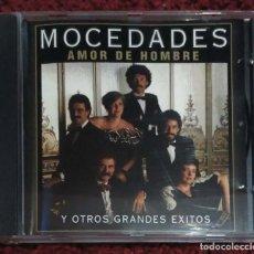 CDs de Música: MOCEDADES (AMOR DE HOMBRE Y OTROS GRANDES EXITOS) CD 2001. Lote 168150160