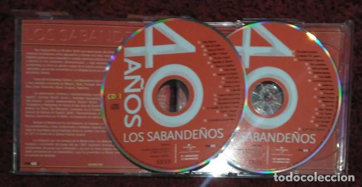 CDs de Música: LOS SABANDEÑOS (40 AÑOS) 2 CDs 2006 - Foto 3 - 168150396
