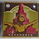 CDs de Música: CD RAREWERKS, 2001, RECOPILATORIO AIR, CASSIUS, FATBOY SLIM, CHEMICAL BROTHERS, PHOTEK, Q BURNS.... Lote 168155200