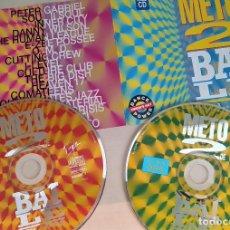CDs de Música: CD DOBLE: METO2 DE BAILE, VOL.2, VVAA, VERSIONES MAXI DE LOS 80, RARO.OMD, PETER GABRIEL, HEAVEN 17,. Lote 168161584
