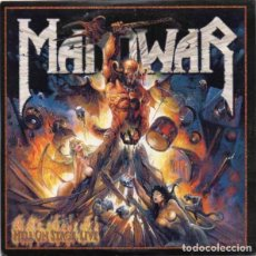 CDs de Música: MANOWAR - HELL ON STAGE LIVE - 2XCD. Lote 168173828