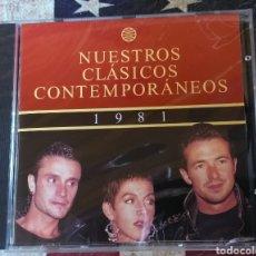 CDs de Música: CONTEMPORANEOS CD 1981 CLASICOS MECANO PORTADA RECOPILATORIO + 5 € ENVIO C.N. Lote 168178070