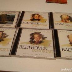 CDs de Música: G-RN18 CD MUSICA LOTE DE SEIS CD DE MUSICA CLASICA LOS DE FOTO. Lote 168234100