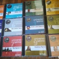 CDs de Música: COLECCIÓN DE 12 CDS, UNIVERSO LATINO. Lote 168260294