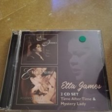 CDs de Música: ETTA JAMES. TIME AFTER TIME & MYSTERY LADY (2 CD SET). Lote 168278096