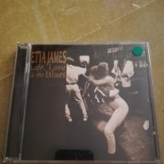 CDs de Música: ETTA JAMES. LIFE, LOVE & THE BLUES (CD). Lote 168278440
