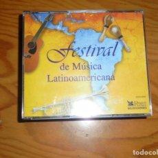 CDs de Música: FESTIVAL DE MUSICA LATINOAMERICANA. READER´S DIGEST. 4 CD´S + LIBRETO. 1999. IMPECABLE. Lote 168282092