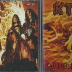CDs de Música: KTULU CD ORDEN GENETICO, RARE 1º PRESS SMD RECORDS 1994 SPANISH THRASH -THOR-EXODO-CROM-FUCK OFF-ADN. Lote 168317416