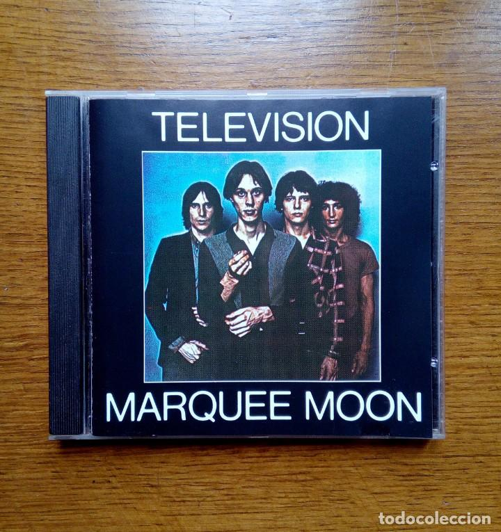 TELEVISION - MARQUEE MOON, ELEKTRA, 1977. GERMANY. (Música - CD's New age)