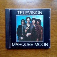 CDs de Música: TELEVISION - MARQUEE MOON, ELEKTRA, 1977. GERMANY.. Lote 168350380