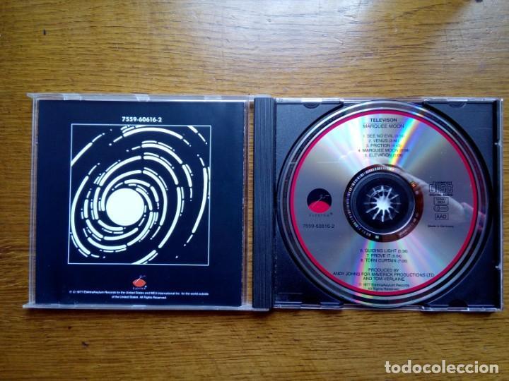 CDs de Música: Television - Marquee moon, Elektra, 1977. Germany. - Foto 2 - 168350380
