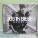 CDs de Música: JUSTIN BIEBER MY WORLDS CD ALBUM THE ULTIMATE COLLECTION 18 TEMAS. Lote 168358348