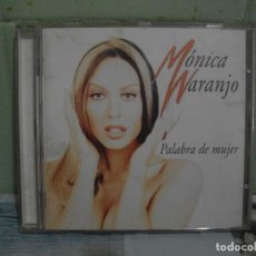 CDs de Música: MONICA NARANJO (PALABRA DE MUJER) CD 1997 PEPETO. Lote 168358496