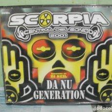 CDs de Música: SCORPIA CENTRAL DEL SONIDO 2001 DA NU GENERATION TRIPLE CD RION DJ ARNEE DJ ROLANDO MASKARA 3 CD. Lote 168359424