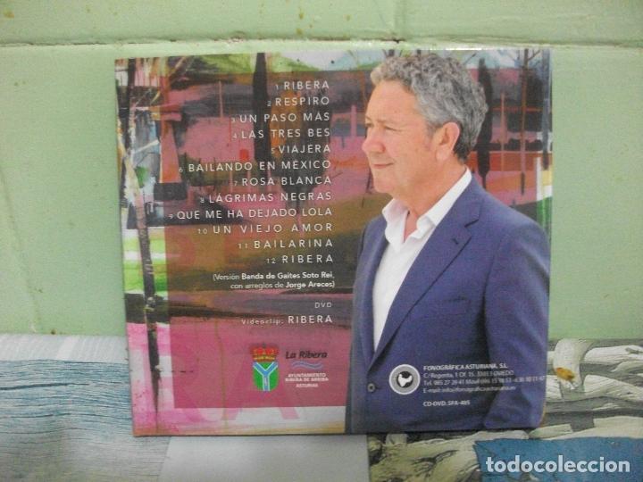 CDs de Música: CD PIPO PRENDES+ DVD + LIBRO RELATOS VIAJE A LA RIBERA ASTURIANA RIBERA DE ARRIBA ASTURIAS PEPETO - Foto 5 - 168360464
