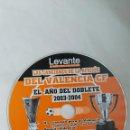 CDs de Música: LAS CANCIONES DE LA AFICIÓN DEL VALENCIA C.F. CD. Lote 168366530