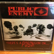 CDs de Música: PUBLIC ENEMY ‎– THERE'S A POISON GOIN ON.... (CD) ([PIAS] RECORDINGS ‎– PIASXCD004). Lote 168370492