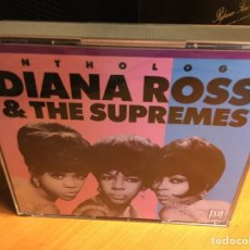 CDs de Música: DIANA ROSS & THE SUPREMES* - ANTHOLOGY (2XCD) (MOTOWN). Lote 168374824