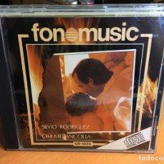 CDs de Música: SILVIO RODRIGUEZ (OH MELANCOLIA) (1988) (FONOMUSIC). Lote 168384252