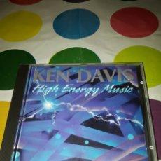 CDs de Música: KEN DAVIS. HIGH ENERGY MUSIC. EDICIÓN HOLANDESA. RARO.. Lote 168420106