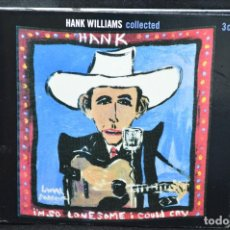 CDs de Música: HANK WILLIAMS - HANK - 3 CD. Lote 168430780