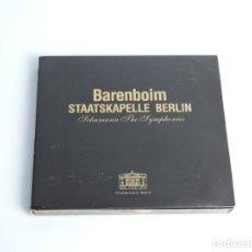 Music CDs - BARENBOIM STAATSKAPELLE BERLIN SCHUMANN THE SYMPHONIES 2XCD - 168432604