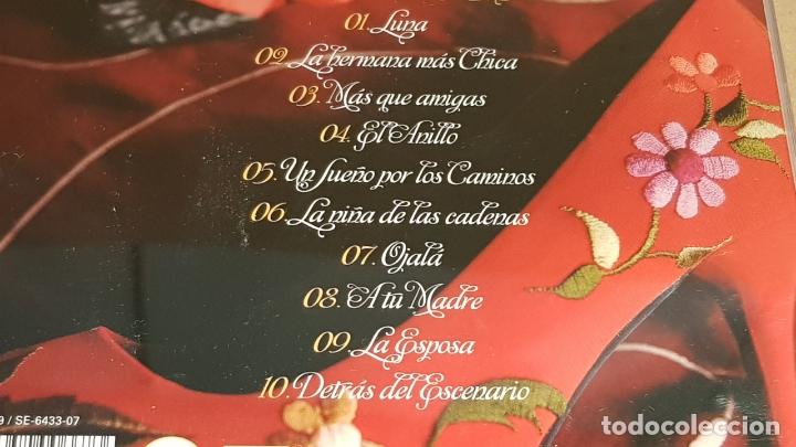 CDs de Música: FIRMADO !! LAS CARLOTAS / SENTIMIENTO Y COMPÁS / CD-COLISEUM-2007 / 10 TEMAS / LUJO. - Foto 4 - 168454228
