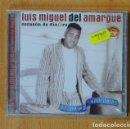 CDs de Música: LUIS MIGUEL DEL AMARGUE - CORAZON DE DINERO - CD. Lote 168457377