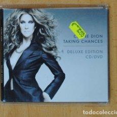 CDs de Música: CELINE DION - TAKING CHANCES + DVD - CD. Lote 168458630