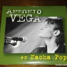 CDs de Música: ANTONIO VEGA 2 CD 38 CANCIONES DIGIPACK ALBUM VERDE EMI NACHA POP. Lote 168492840