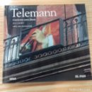 CDs de Música: TELEMANN CONCIERTOS PARA FLAUTA COLECCIÓN EL PAÍS NÚMERO 21. Lote 168494416